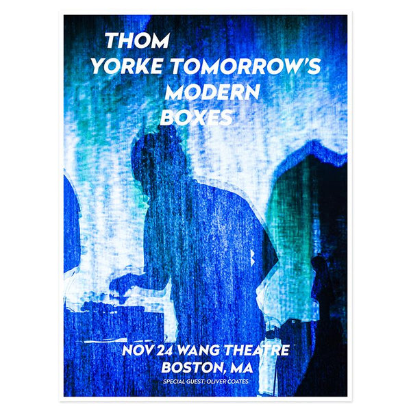 THOM YORKE BOSTON EVENT POSTER