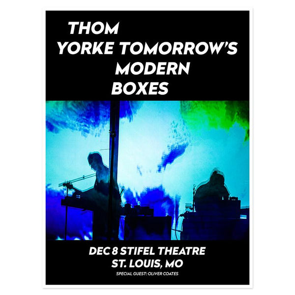THOM YORKE ST LOUIS EVENT POSTER