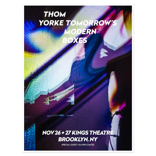 THOM YORKE BROOKLYN EVENT POSTER