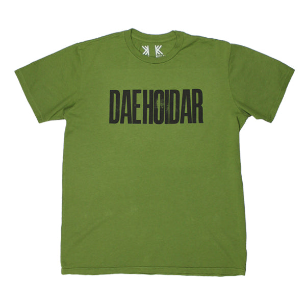 DAEHOIDAR ARMY GREEN T-SHIRT