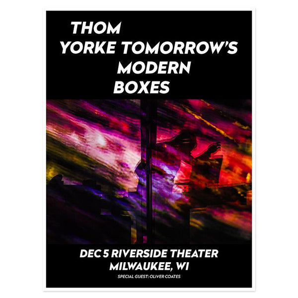 THOM YORKE MILWAUKEE EVENT POSTER