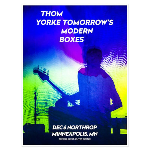 THOM YORKE MINNEAPOLIS EVENT POSTER