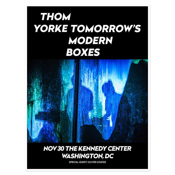 THOM YORKE WASHINGTON EVENT POSTER
