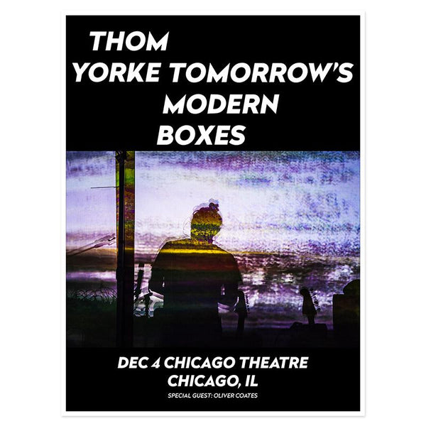 THOM YORKE CHICAGO EVENT POSTER
