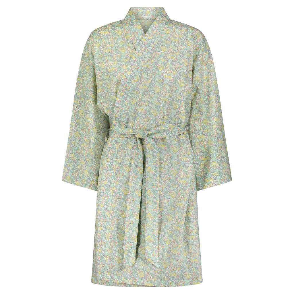 ROBE LIBERTY PRINT # 12 -Blue/Yellow/Green