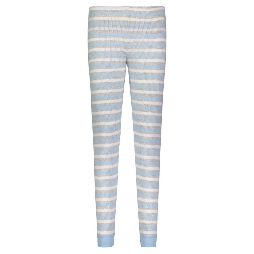 JOGGER Light Blue and Grey Lee Stripe
