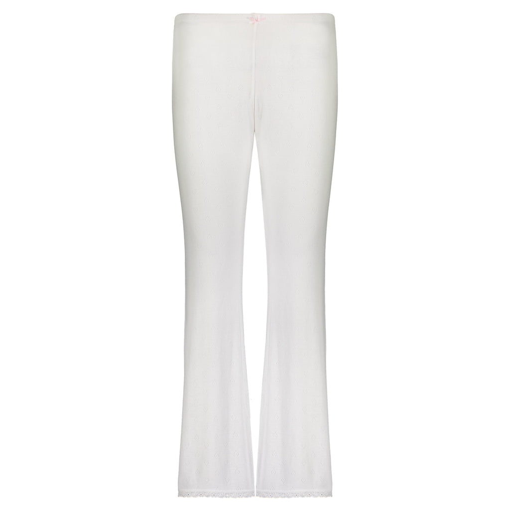 PANT Pearl White Vintage Hearts w Cluny Lace -MORE COMING