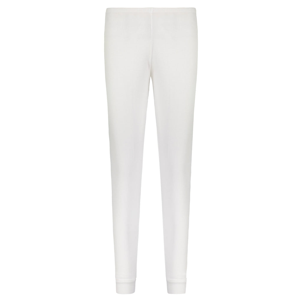 JOGGER Pearl White Solid Knit -MORE COMING