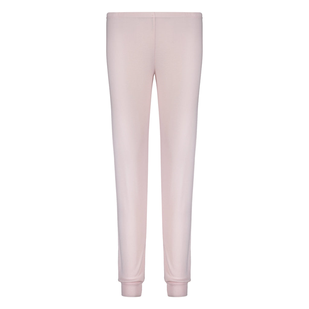 JOGGER Shell Pink Solid Knit