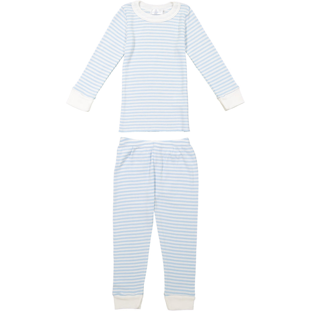 BOYS OCEAN BLUE Sailor Stripe PJ PANT
