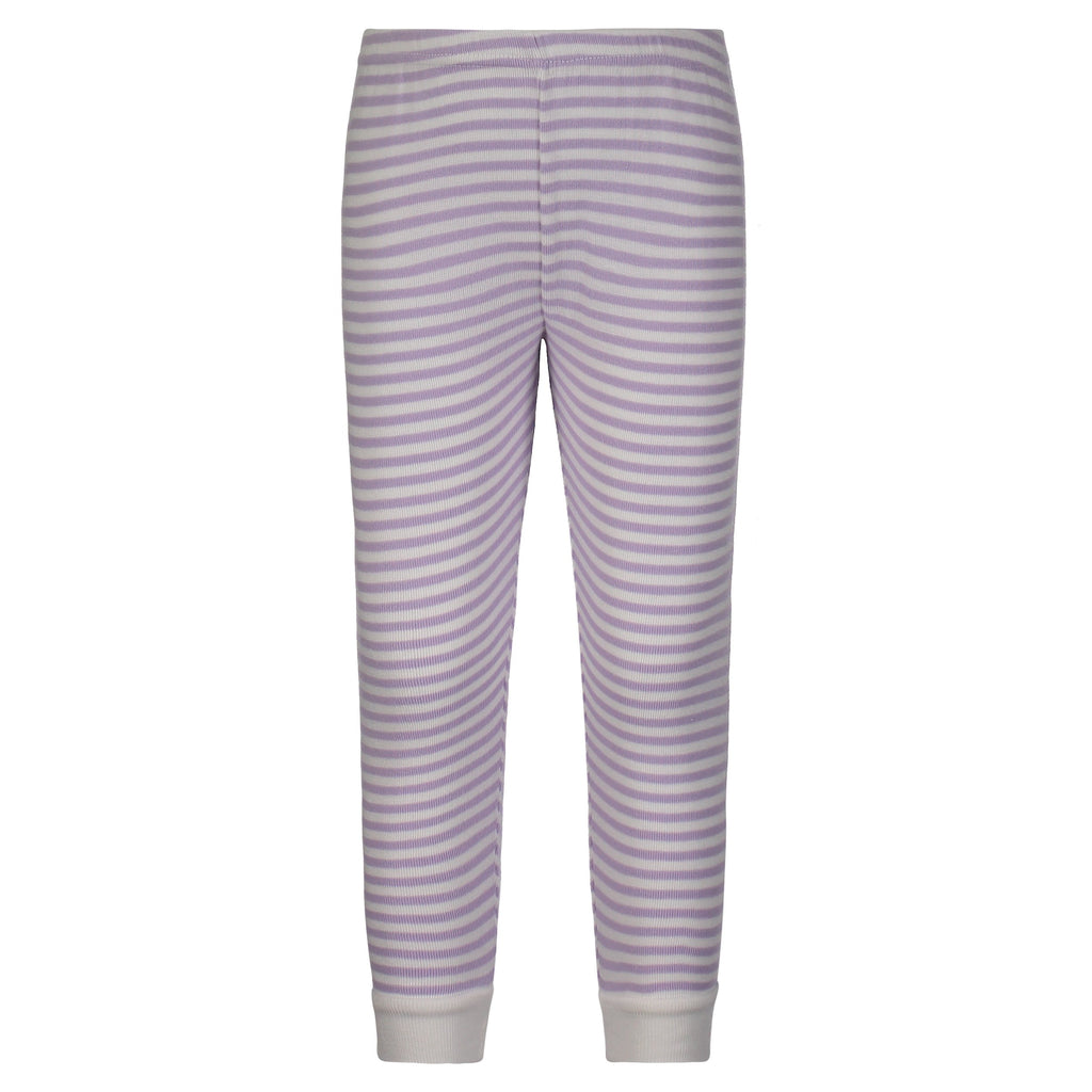GIRLS JOGGER Lilac Sailor Stripe