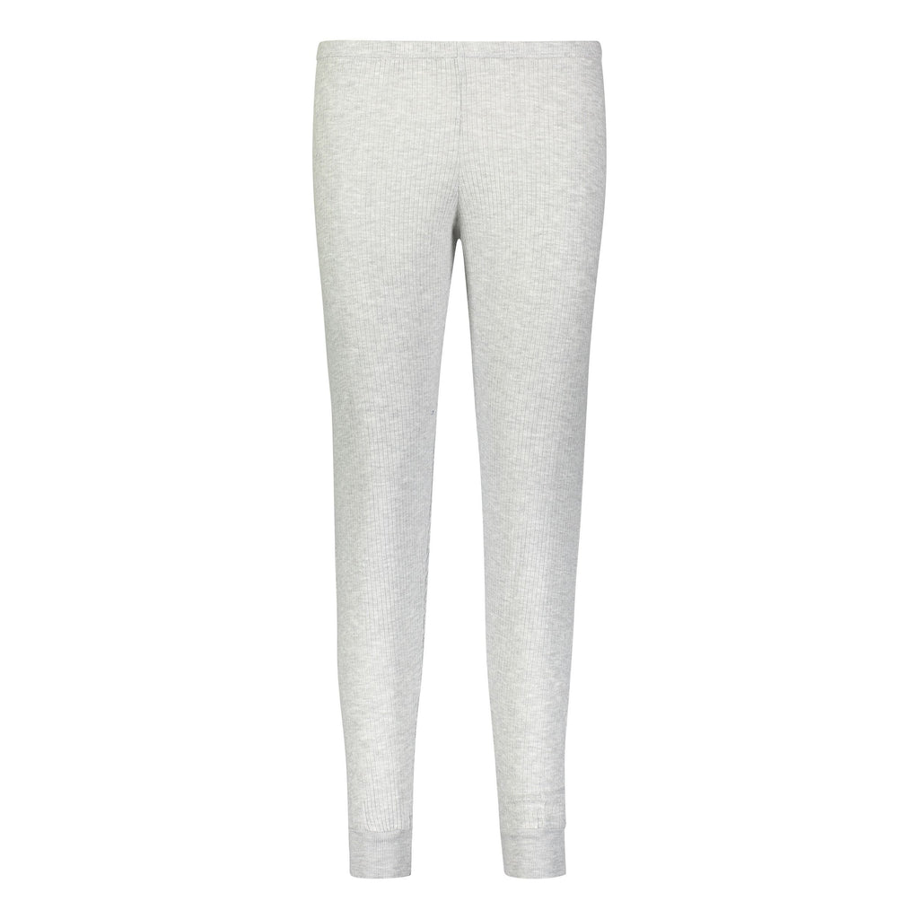 RIB JOGGER Heather Grey
