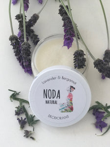 N'oda Natural Deodorant - Lavender and Bergamot 100ml
