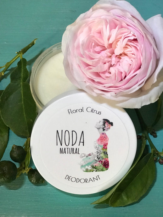 N'oda Natural Deodorant - Floral Citrus 100ml