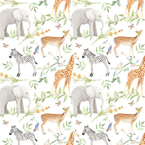 Woodland Animals Wrapping Sheets