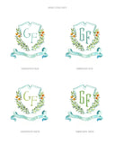 Citrus Grove Crest Gift Tags