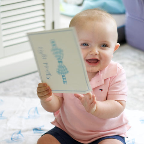 Baby Boy Milestone Card Set