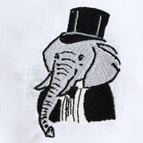 "Kara McKean Designs for Lettermade ""Elephant Esq."" Cocktail Napkins"