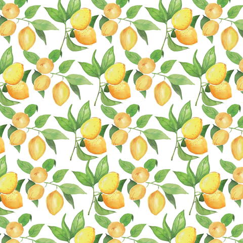 Lemon Groves Wrapping Sheets