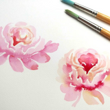 Watercolor Floral Workshop at Scout & Tag