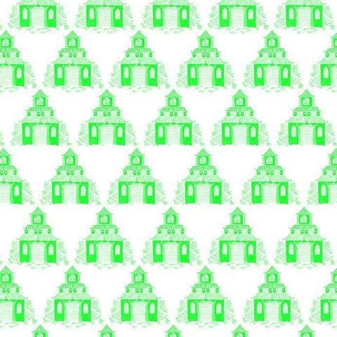 Green Pagoda Wrapping Sheets