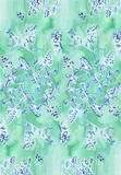 Blue + Green Chinoiserie Wrapping Sheets