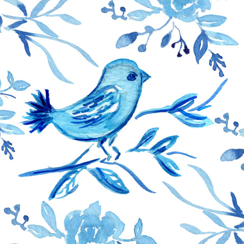 Blue Bird Gift Tags