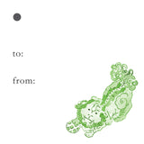 Foo Dog Gift Tags
