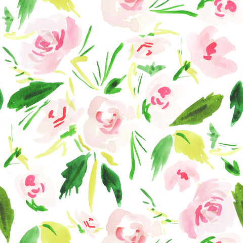 Pink Flowers Wrapping Sheets