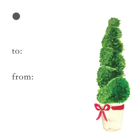 Topiary Gift Tags