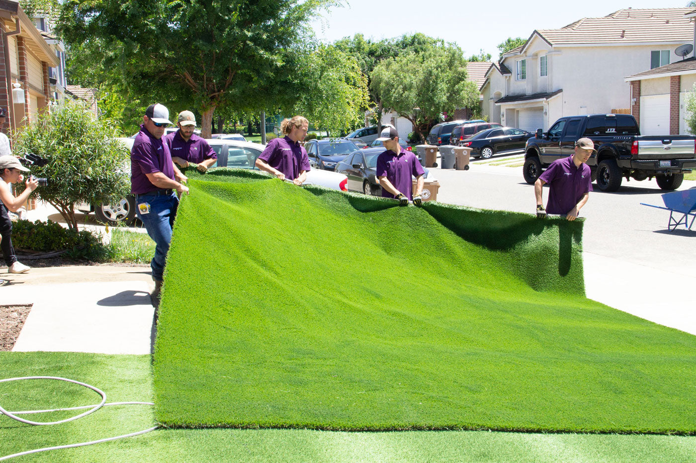 How To Install Artificial Grass Synthetic Turf Installation