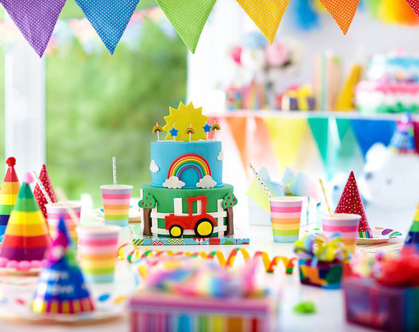 Rainbow Party | Outdoor Party Ideas