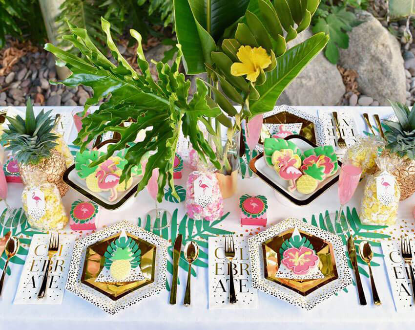 Tropical Party | Outdoor Party Ideas