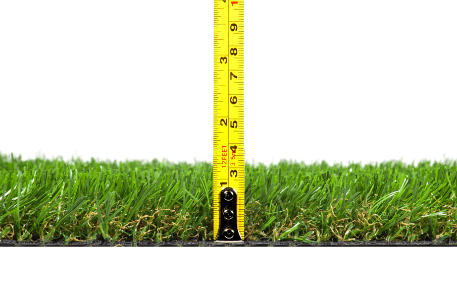 What are artificial grass blade lengths?
