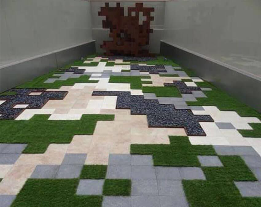 Synthetic Grass Quilt