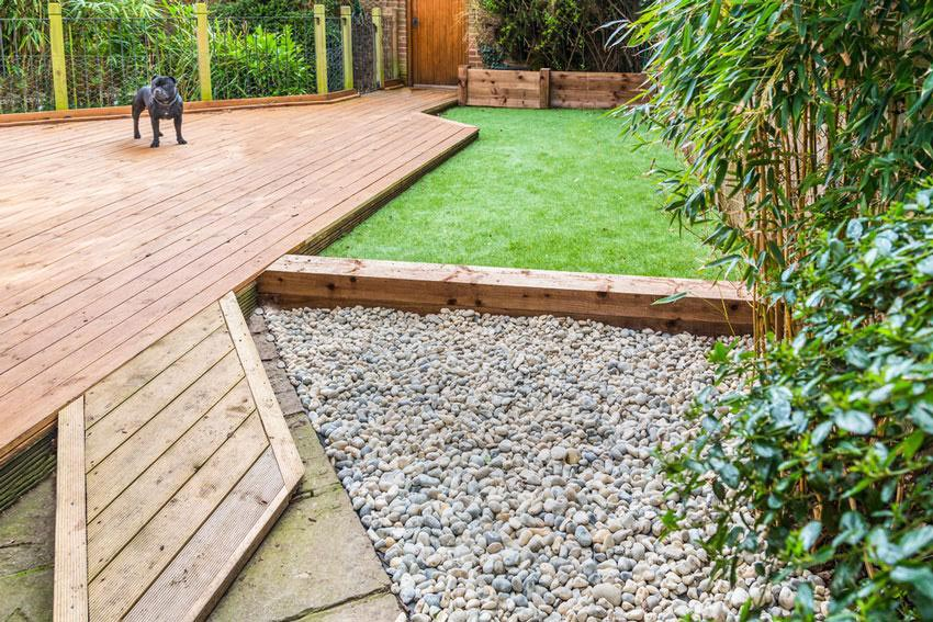 artificial turf backyard