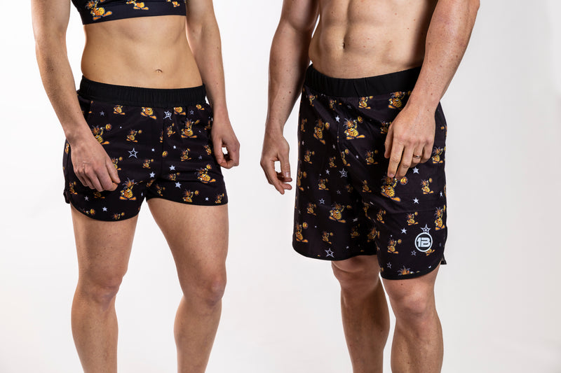 1PB - Pineapple Running Shorts