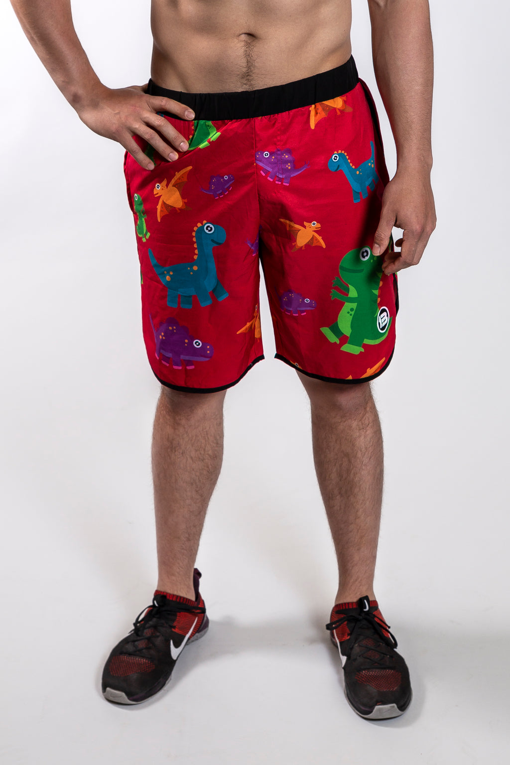 1PB - Dino Workout Shorts