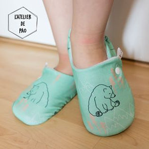Menta Wrap shoe Baby sizes