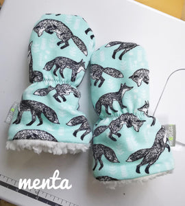 SMALL Overall Menta Mittens (Children)