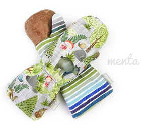 Overall Menta Mittens