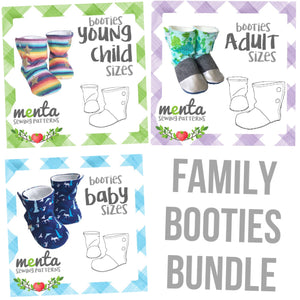Family Booties Bundle - 19 sizes