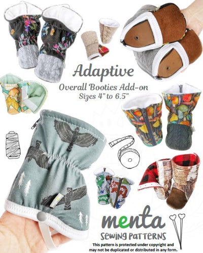 Overall Menta Booties Adaptive Add-on