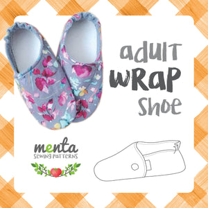 Menta Wrap shoe Adult sizes