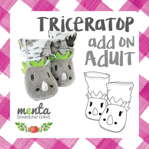 Adult Triceratops Add-on