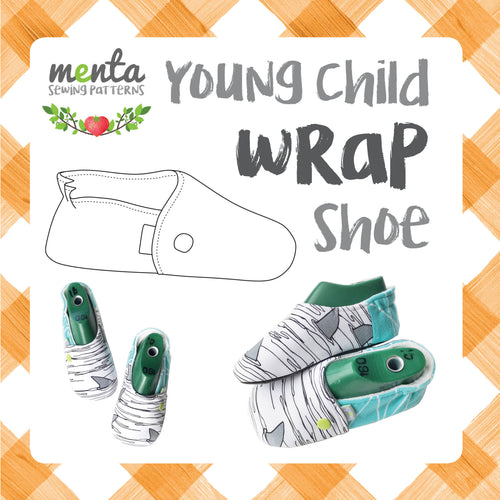 Menta Wrap shoe Young Children sizes
