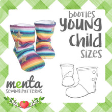 Young Child Menta Booties