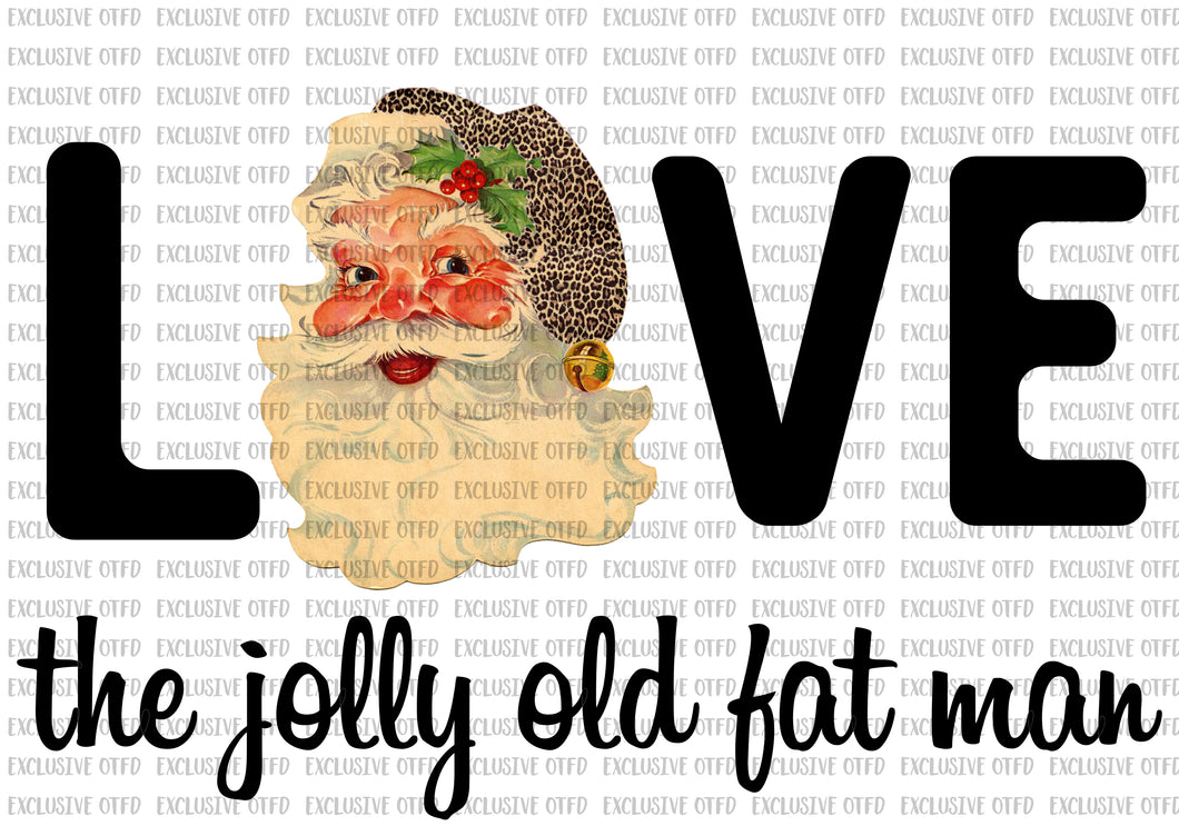Love the jolly old fat man