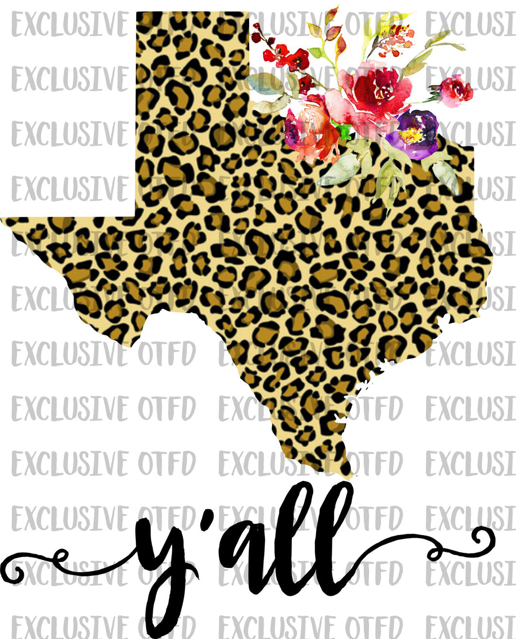 Cheetah Texas Y'all