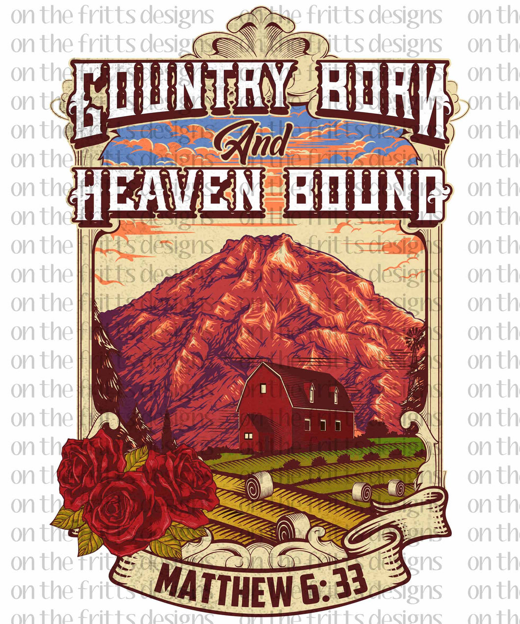 Country born heaven bound